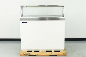 Used Master bilt Dd 46 48 Ice Cream Dipping Cabinet