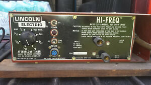 Lincoln High Frequency Arc Stabilizer With Gas Solenoid Free Shipping