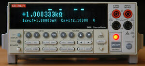 Keithley 2400 Sourcemeter Smu Source Measure Unit 200v 1a 20w