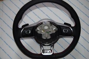 Vw 5g0419091 Gti R Line Steering Wheel With Dsg And Cnl Paddles Golf 7 Mk7 New