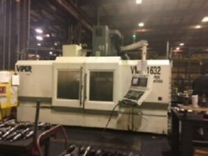 Large Vmc 2007 Cnc Viper 65 X 35 X 35 With Fanuc 21imb Pallet Changer Video