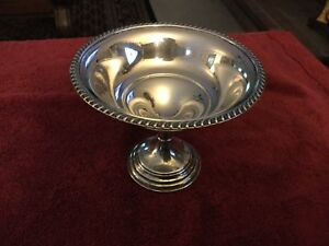 Crosby Sterling Silver Compote Candy Dish