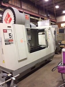 See Video 2007 Haas Vf 5 50 Cnc Vertical Machining Center Vmc Michigan