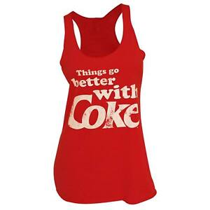 Coca-Cola Things Go Better With Coke Women's Tank Top Red