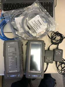 Agilent Framescope 350 Wirescope 350 Network Analyzer W Accessories Dual Remote