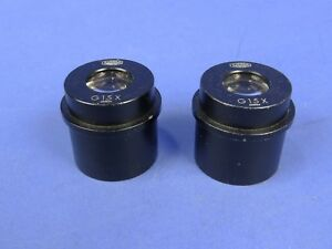 Olympus 15x Wf Stereo Zoom Microscope Eyepiece G15x 30mm Cleaned