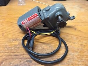 Dayton Gearmotor Model 2z799a Rpm 13