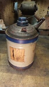Antique Gas Can Great For Hit Miss Engine Tractor Steam Shows