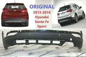 2013 2014 2015 2016 Oem Hyundai Santa Fe Rear Lower Bumper Cover W sensor Hole