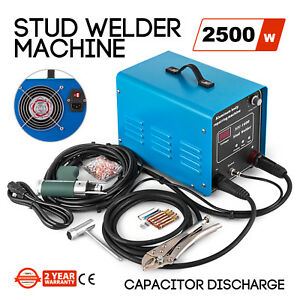 Capacitor Discharge Stud Bolt Plate Welder Machine 2500w Obo Style Signs