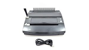 Gbc P300 Docubind Electric System Punch Comb Binding Machine W Power Cable