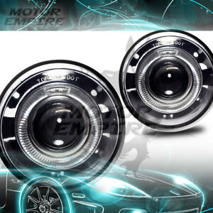 For 2004 2010 Jeep Grand Cherokee Halo Projector Fog Lamps