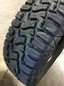 4 New 33 12 50 17 Haida Rt 10 Ply 33x12 50r17 Mud Tires