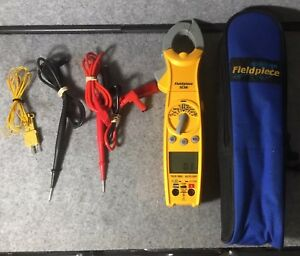 Fieldpiece Sc56 Swivel Head Clamp Meter With Case Euc Free Shipping