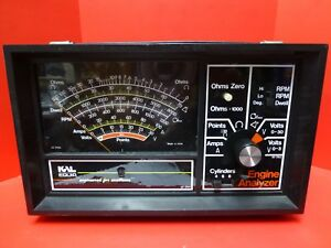 Kal Mod 2920 Professional Engine Analyzer Excellent Condition Instructions Usa