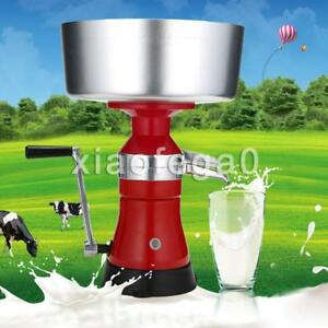 Stainless Steel Metal Milk Cream Manual Centrifugal Separator Machine 100l h Usa