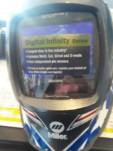 Miller Stars And Stripes Digital Infinity Auto Darkening Welding Helmet 280049