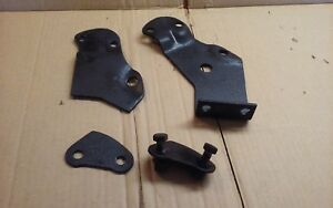 1960 60 Chevy Belair Biscayne Rear Bumper Brackets Parts