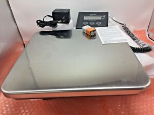 Weighmax W 4830 Tabletop Digital Industrial Shipping Postal Scale 330lb
