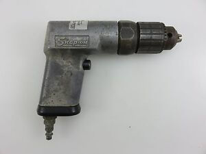 Snap On Pd3 Air Pneumatic Non Reversible Drill With 3 8 Chuck Vintage Usa Made