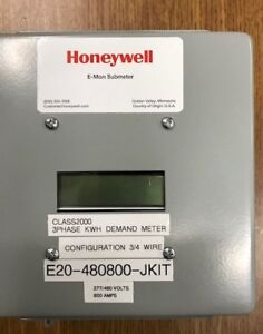 3phase Kwh Meter By Honeywell 800 Amp