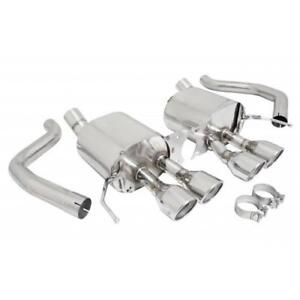Manzo Stainless Steel Catback Exhaust System For Corvette 14 16 C7 6 2l