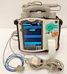 Philips Heartstart Mrx Patient Monitor W Battery spo2 nbp ibp temp pacing