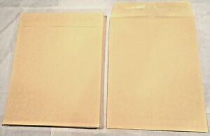 500 10x13 Manila Kraft Catalog Shipping Mailers Envelopes W Gummed Closure