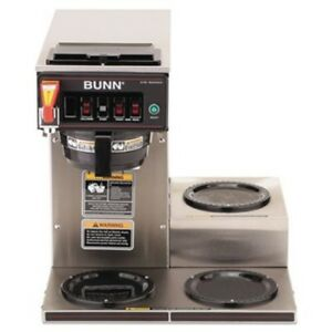 Bunn Cwtf15 3 Comes W 3 Coffee Pots And A 30 Day Limited Parts Warranty