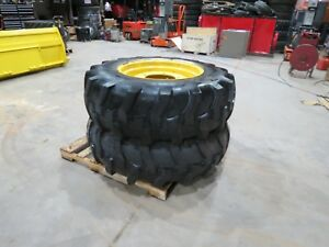 Titan 16 9 28 Tires Backhoe Ford 555 With Rims 12 Ply 5 Lug Tire