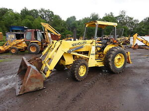 Ford New Holland 545d Tractor Loader Late Model 545 4wd Shuttle Turbo Diesel