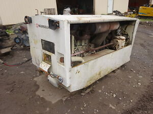 Ingersoll Rand 175 Cfm Air Compressor Skid Mounted Deutz Diesel Video Ir Hammer
