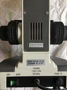 Koch Microscope With 4 Motic Objective Oil Lens S n S210530 Motic B1 Style