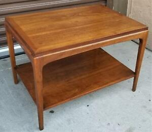 Rare Mid Century Modern Danish Lane 997 05 End Table