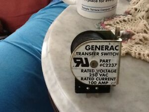 Generac Standby Generator 100amp Transfer Switch Replacement Lower Standby Coil