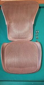 Herman Miller Aeron Chair Parts Replacement back Support And Seat Pan More