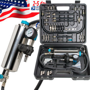 14pc Radiator Leak Pressure Tester Detector Checker Pump Kit Tool Car Truck Best