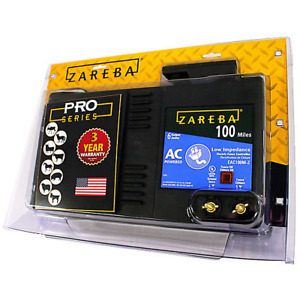 Zareba Electric Charger Fence Mile Low Impedance Ac 6 Pro Series Powered Battery