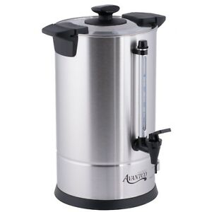 Avantco 55 Cup Commercial Coffee Maker Machine Urn Brewer Warm Electric Cu55etl