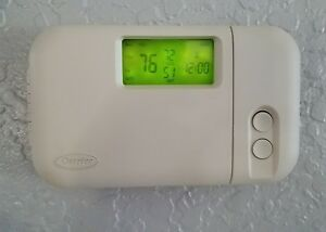 Carrier Programmable Thermostat smoke Free