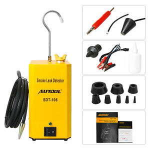 Autool Sdt 106 Automotive Car Diagnostic Smoke Leak Detector Leakage Test Tool