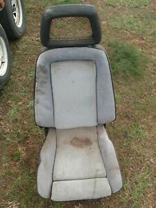 1979 Ford Mustang Recaro Pace Car Seats Set Very Rare With Tracks Both