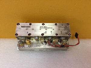 Tektronix 119 1096 02 2nd Converter Assembly For 492 49x Analyzers Tested