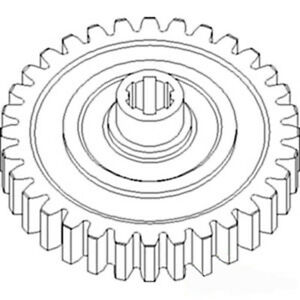 681627 New Feeder Reverser Gear Made To Fit Ford New Holland Nh Combine Models