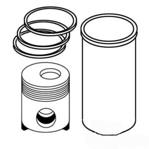 Sk199 New Piston Liner Kit Made To Fit White Oliver Tractor Models 77 550 770