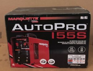 Lincoln Electric K3291 1 Marquette Arc Welder electric Autopro 155s Dc Inverter