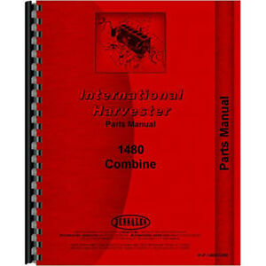 New International Harvester 1480 Combine Chassis Parts Manual