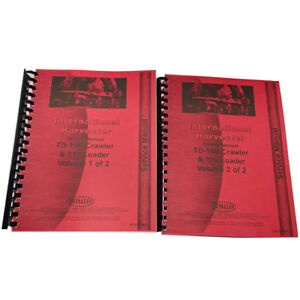 New International Harvester 175 Crawler Chassis Service Manual