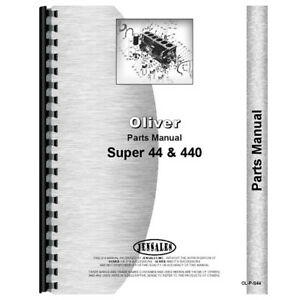 New Oliver 44 Tractor Parts Manual