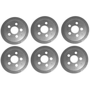 C5nn2a097b Set Of 6 Brake Discs For Ford Tractor 3910 3930 4000 4500 4600 4610